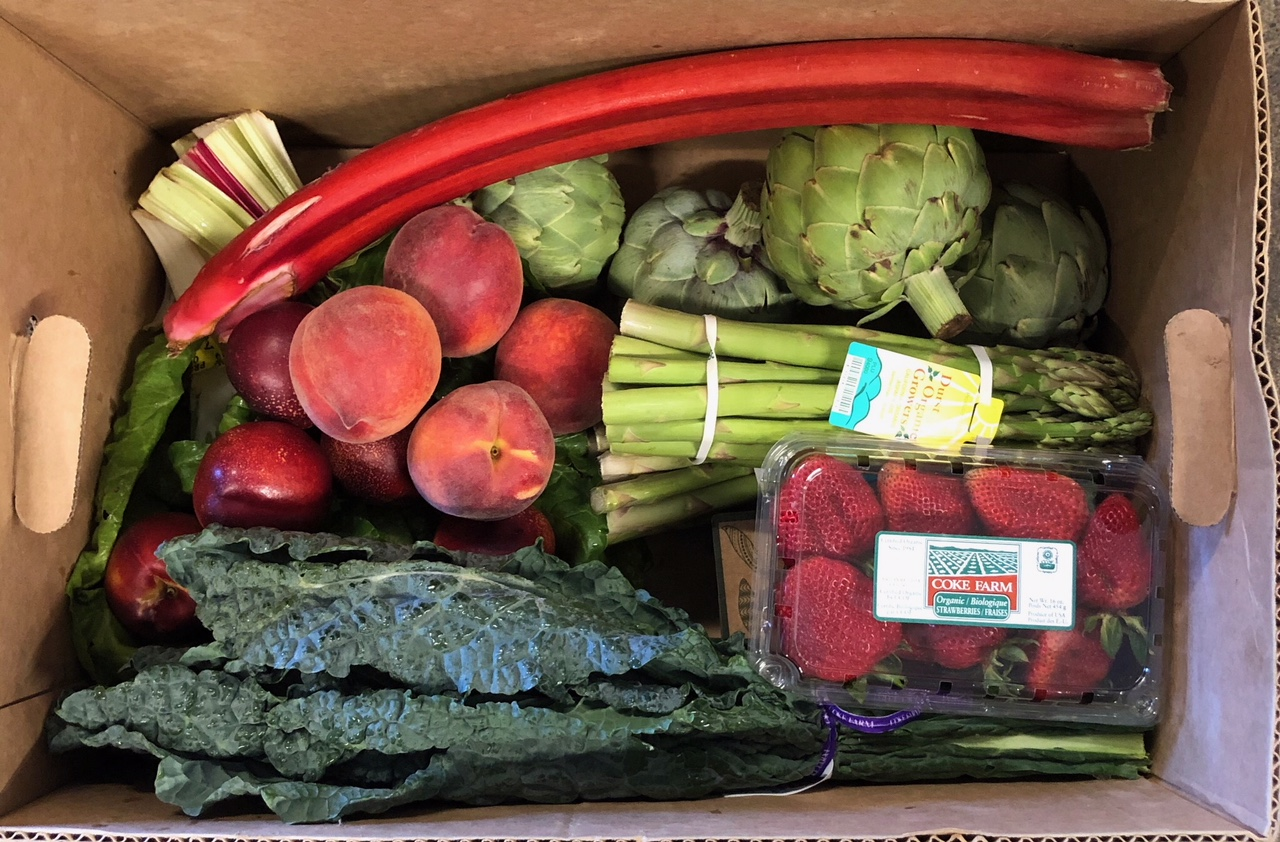 Produce Farm Boxes Now Available!